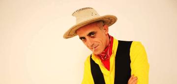 Cowboy del humor en Beade