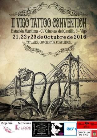 Cartel de la Vigo Tattoo 2016