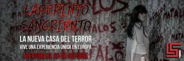 [Inauguración] Laberinto Sangriento, Casa del Terror en Vigo