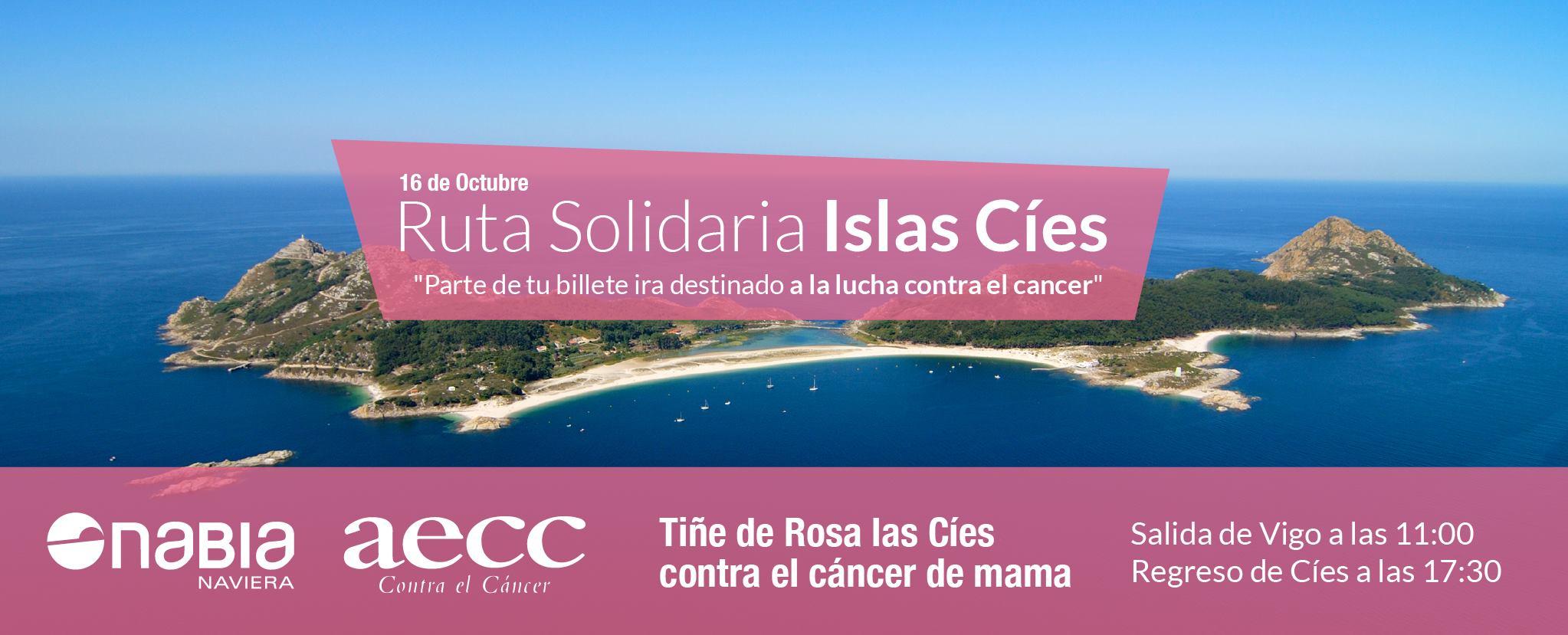 Ruta solidaria en las Islas Cíes