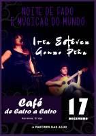 Fado y Músicas del Mundo con Iria Estévez y Gonzo Piña
