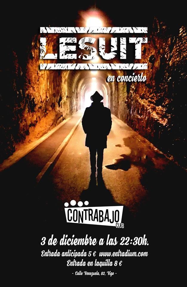 Concierto de Lesuite en Vigo