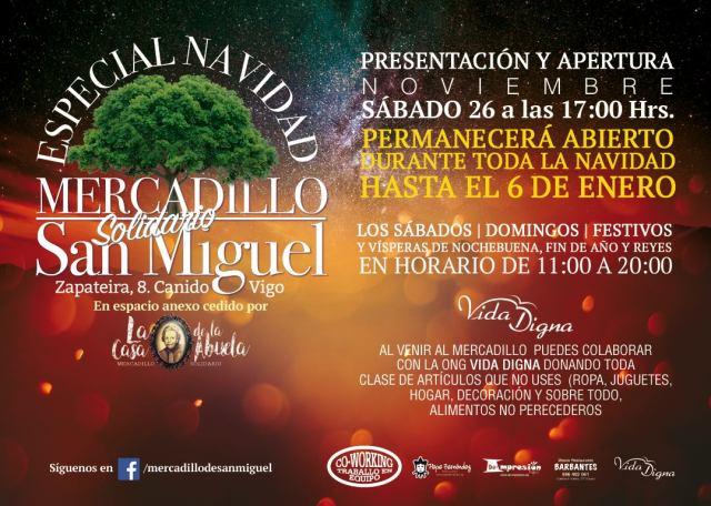 Mercadillo Solidario de San Miguel