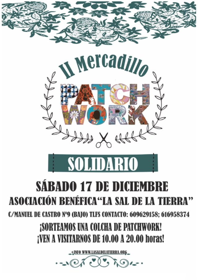 Mercadillo Solidario de Patchwork