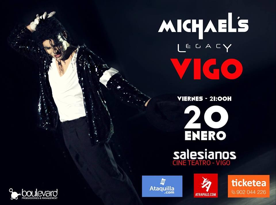 Michael's Legacy en Vigo, Homenaje al Rey del Pop