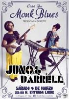Juno & Darrel  en el Monk Blues Cóctel Bar