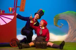 A Nena que quería navegar, teatro infantil