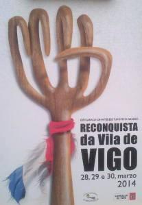 Cartel de la Reconquista de Vigo 2014