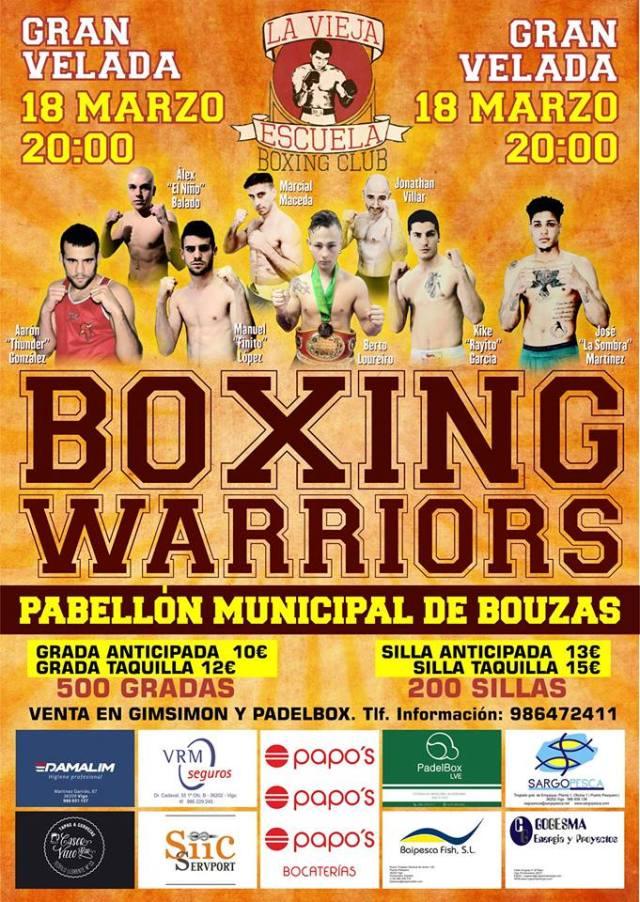 Gran Velada Boxing Warriors