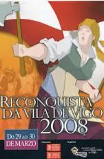 Cartel de la Reconquista de Vigo 2008