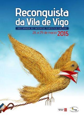 Cartel de la Reconquista de Vigo 2015