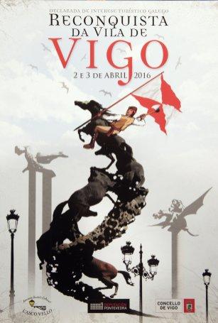Cartel de la Reconquista de Vigo 2016