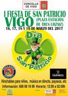 Fiesta de San Patricio en Vigo