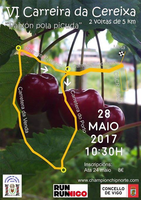 carrera popular Fiesta de la cereza