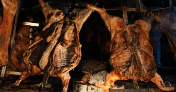 Fiesta del Cerdo al Espeto 2017 de Lavadores