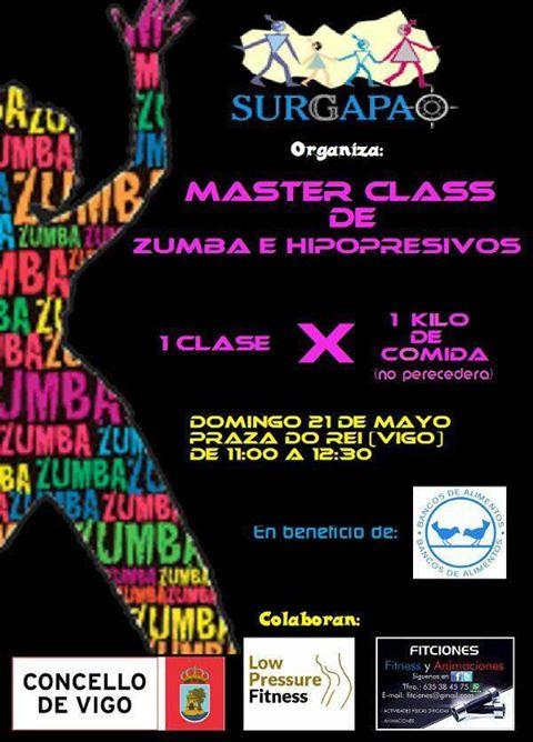 Master Class Solidaria de Zumba e Hipopresivos