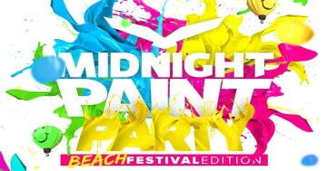 Midnight Paint Party Festival 2017 de Nigrán.