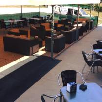 Terraza Café a Cultural Miñoteira