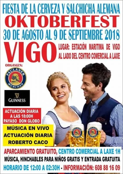 Fiesta de la Cerveza en Vigo | OktoberFest 2018