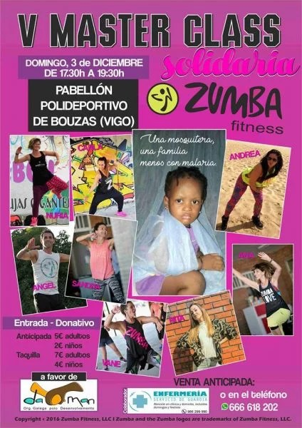 Master Class Zumba Solidaria