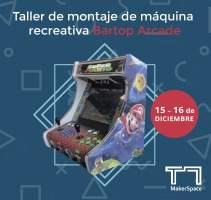 Taller de montaje de máquina recreativa Bartop Arcade