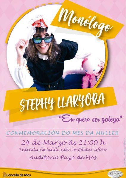 """Stephy Llaryora, Monólogo """"Eu quero ser Galega"""""""