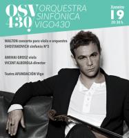 Orquestra Sinfónica Vigo 430: concierto Nº5 de la temporada 2017-18