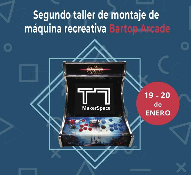 2º Taller de montaje de máquinas recreativas Bartop Arcade