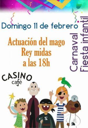 Fiesta infantil Casino de Sabaris