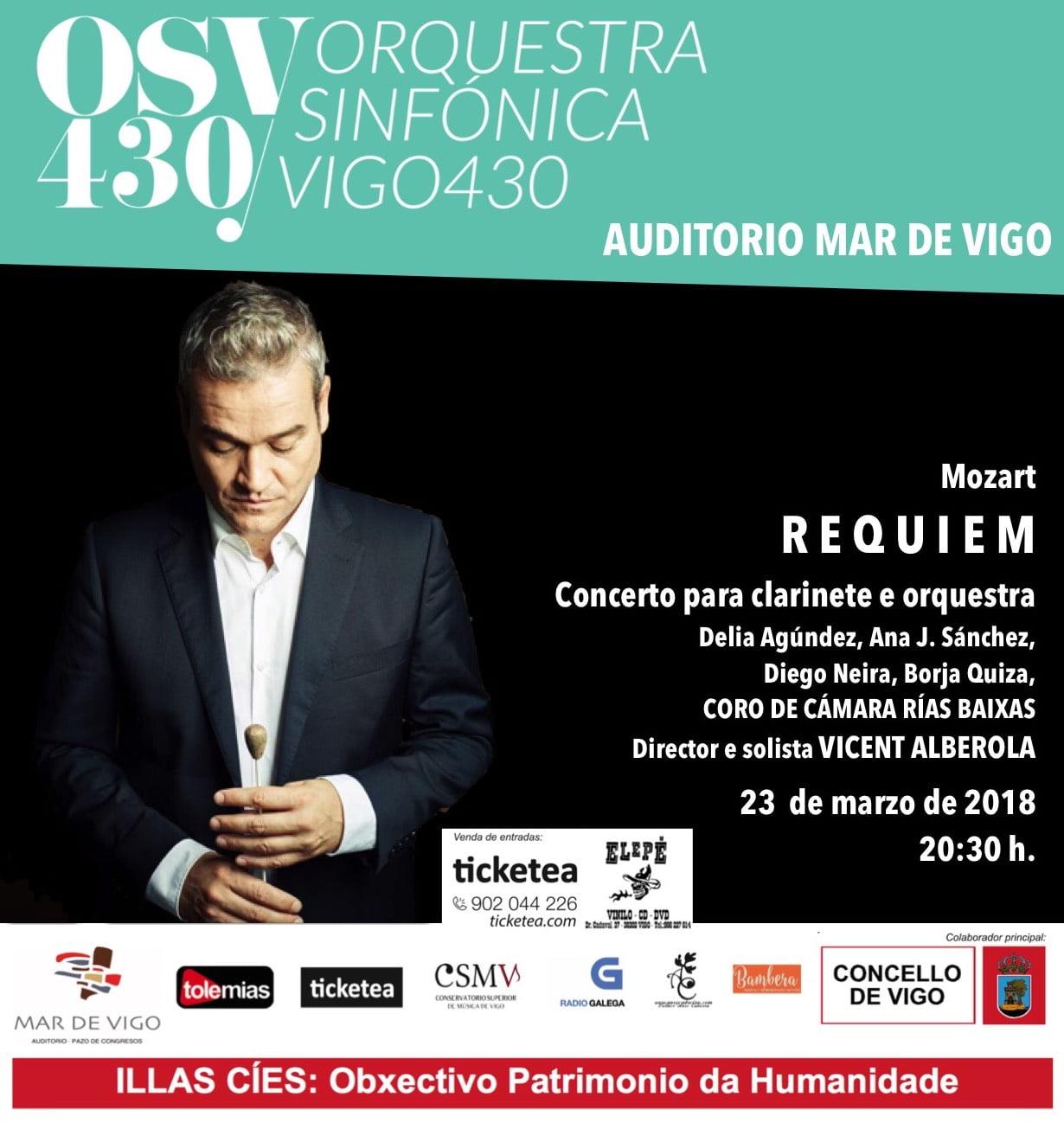 Mozart: Requiem – Orquestra Vigo 430