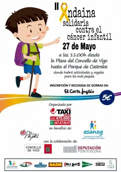 II Andaina Solidaria contra el Cáncer Infantil