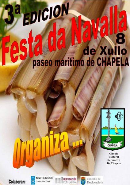 Fiesta de la Navaja 2018 de Chapela