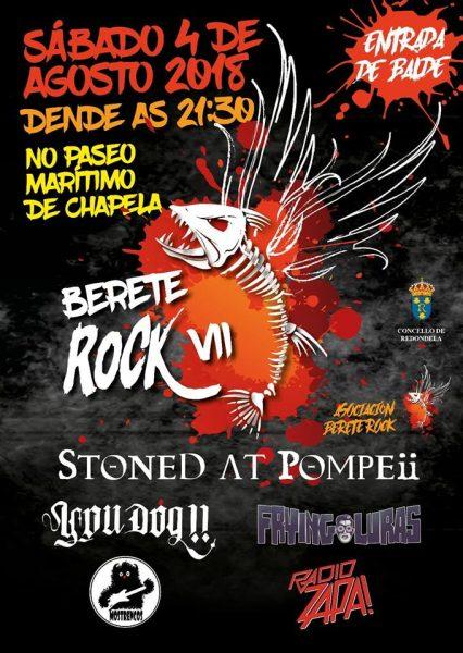 Berete Rock 2018
