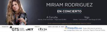 Miriam Rodríguez en concierto | Sala Rouge