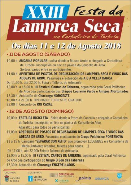 Fiesta de la Lamprea Seca 2018