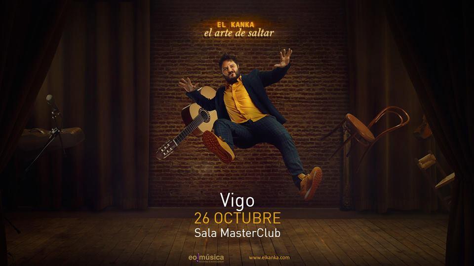 Concierto de El Kanka en Vigo | Sala MasterClub