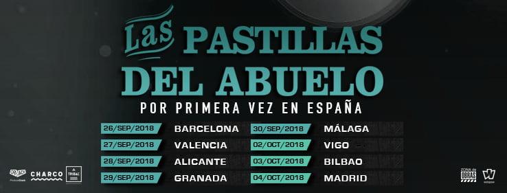 Concierto de Las Pastillas del Abuelo en Vigo