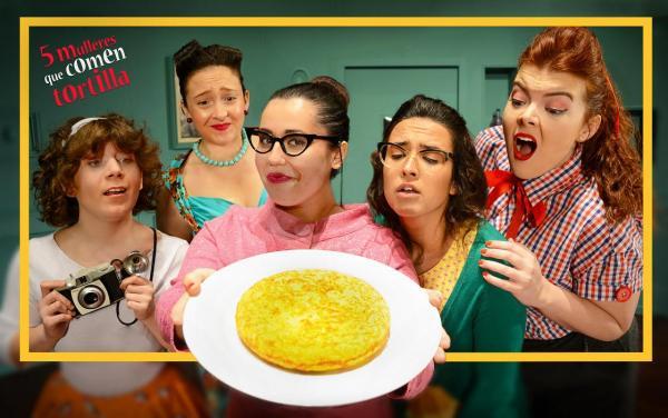 5 mulleres que comen tortilla | Sala Ártika