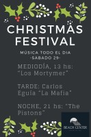 Christmas Festival Beach Center Vao
