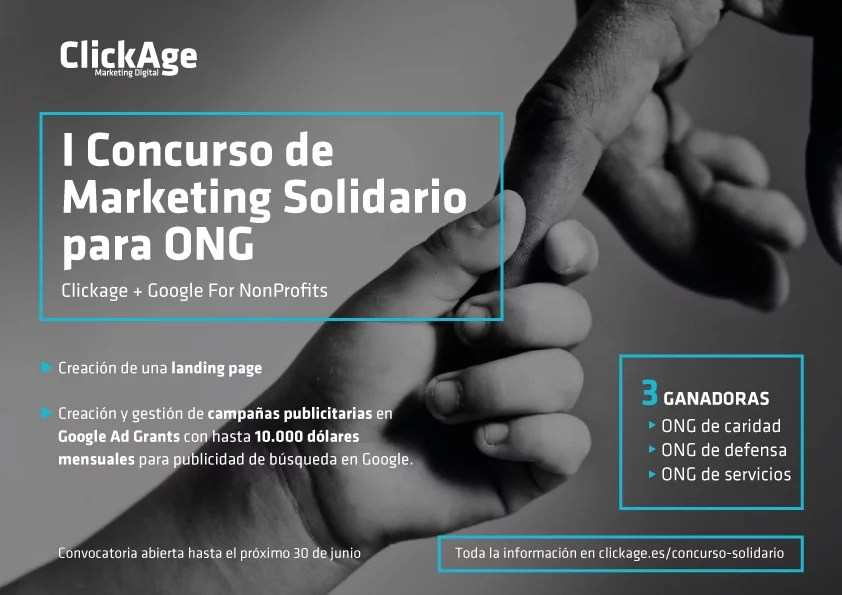 I Concurso de Marketing Solidario para ONG