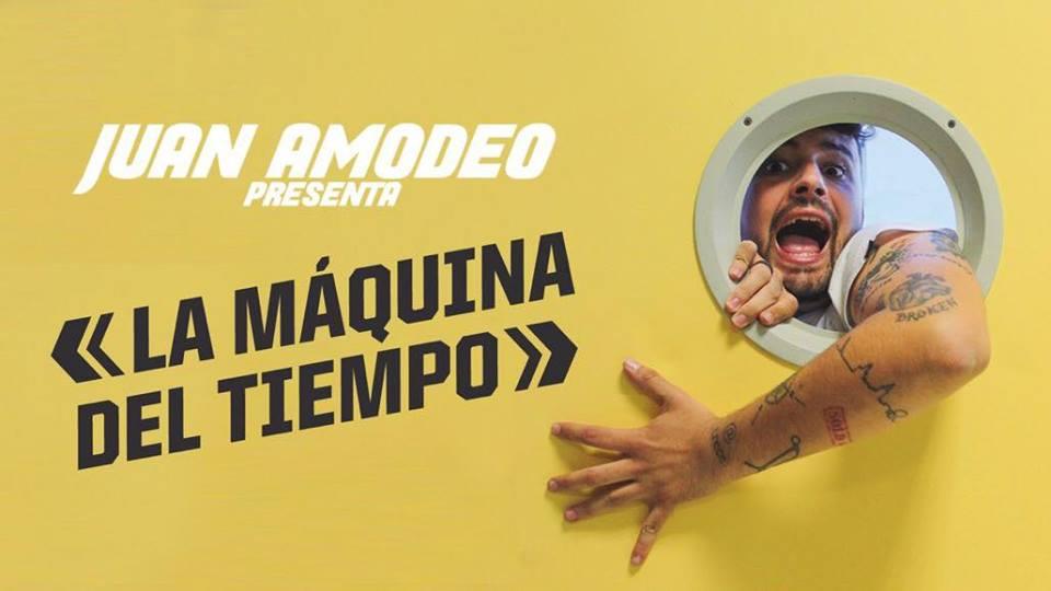 Juan Amoedo presenta la Máquina del Tiempo