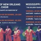 Grandes del Gospel el 13 de diciembre en Teatro Afundación Vigo