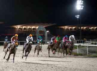 Carreras nocturnas en el Hipódromo