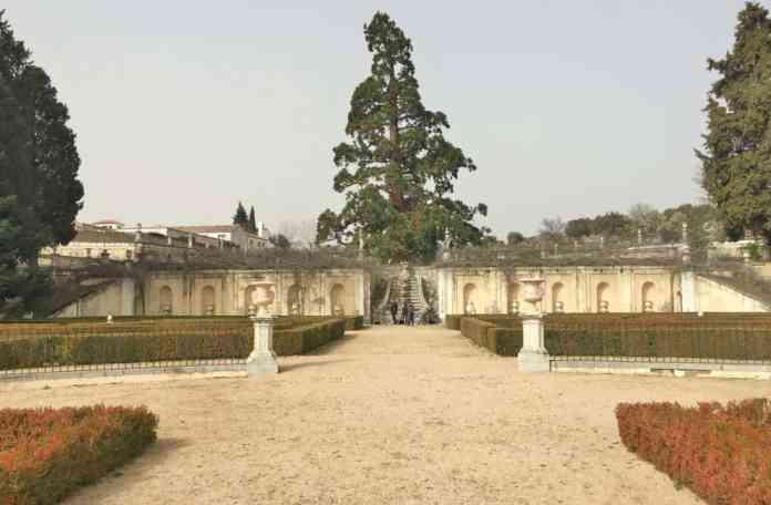 El jardín de la Quinta de El Pardo