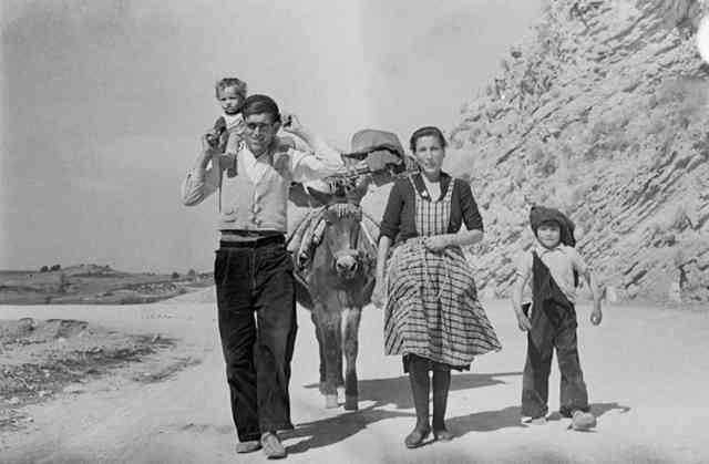 Carlos Saura: España. Años 50