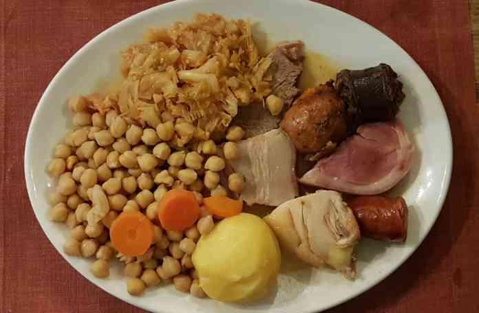 Cocido Madrileño completo