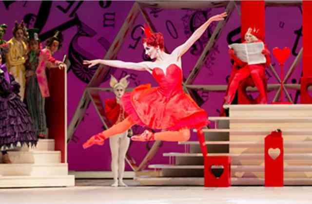 El Royal Ballet de Londres nos trae Alicia en el País de las Maravillas