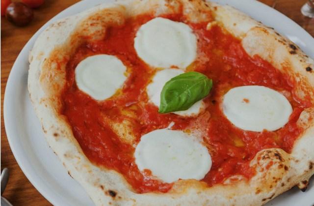 Pizza de Mozzarella de Búfala