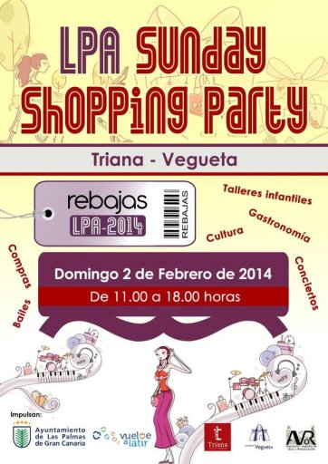 LPA Shopping Party febrero 2014