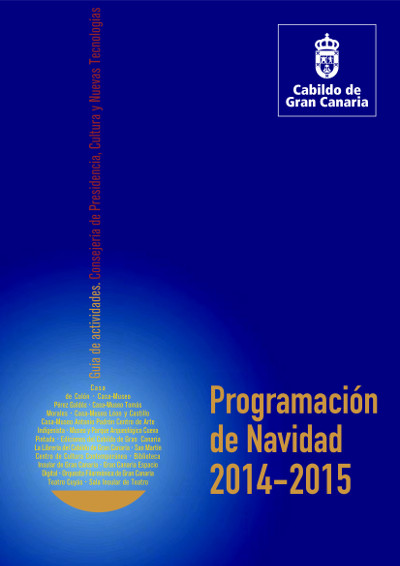Gran Canaria Programación de Navidad 2014-2015